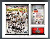 Chicago Blackhawks 2010 Stanley Cup Champion Milestones & Memories Framed Photo