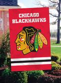 Chicago Blackhawks 2-Sided Banner Flag