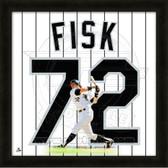 Carlton Fisk Chicago White Sox 20x20 Framed Uniframe Jersey Photo