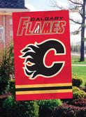 Calgary Flames 2 Sided Banner Flag