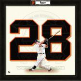 Buster Posey San Francisco Giants 20x20 Framed Uniframe Jersey Photo