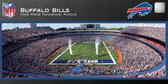 Buffalo Bills Panoramic Stadium Puzzle