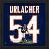 Brian Urlacher Chicago Bears 20x20 Framed Uniframe Jersey Photo