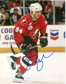 Brendon Shanahan Canadian National Team Signed 8x10 Photo