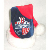 Boston Red Sox 2007 World Series Champions Santa Hat Ornament