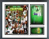Boston Celtics 2007-08 NBA Champions Milestones & Memories Framed Photo
