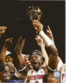 Ben Wallace Detroit Pistons 2004 NBA Champions 8x10 Photo