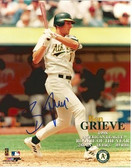 Ben Grieve Oakland Athletics Signed 1998 Rookie of the Year 8x10 Photo