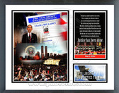 "Barack Obama ""Justice has been done"" Milestones & Memories Framed Photo"