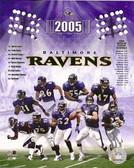 Baltimore Ravens 8x10 Team Photo - 2005