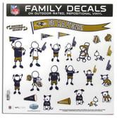 """Baltimore Ravens 11""""x11"""" Family Decal Sheet"""