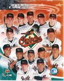 Baltimore Orioles 2002 Team 8x10 Photo