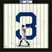 Babe Ruth New York Yankees 20x20 Framed Uniframe Jersey Photo