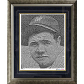 Babe Ruth New York Yankees  Mosaic Framed 16x20 Photo (Ltd of 1000)