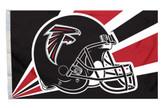 Atlanta Falcons 3'x5' Helmet Design Flag