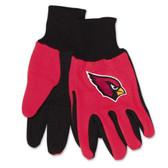 Arizona Cardinals Two Tone Gloves - Adult Size