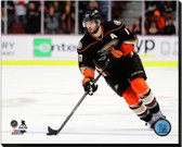 Anaheim Ducks Ryan Kesler 2014-15 Action 16x20 Stretched Canvas
