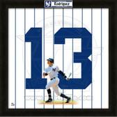 Alex Rodriguez New York Yankees 20x20 Framed Uniframe Jersey Photo