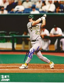 AJ Hinch Oakland Athletics Signed 8x10 Photo