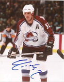 Adam Foote Colorado Avalanche Signed 8x10 Photo