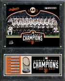 2014 World Series Champions San Francisco Giants Team Plaque