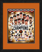 2014 World Series Champions San Francisco Giants Composite