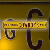 Wyoming Cowboys Avenue Sign 70260-AUTHSS