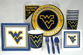 West Virginia Mountaineers Party Supplies Pack #1