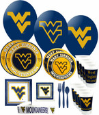West Virginia Mountaineers Party Supplies Pack # 3