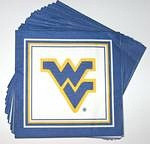 West Virginia Mountaineers Lunch Napkins