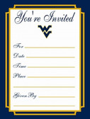West Virginia Mountaineers Formal Invitations