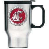 Washington State Cougars Stainless Steel Travel Mug