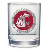 Washington State Cougars Double Old Fashioned Glass Set