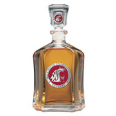Washington State Cougars Capitol Decanter