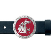 Washington State Cougars Belt Buckle