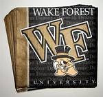 Wake Forest Demon Deacons Beverage Napkins
