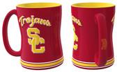 USC Trojans Coffee Mug - 15oz Sculpted