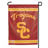 """USC Trojans 11""""x15"""" Garden Flag"""