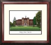 University of Wisconsin, Stevens Point Alumnus Framed Lithograph