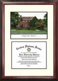 University of Wisconsin, Milwaukee Scholar Framed Lithograph with Diploma