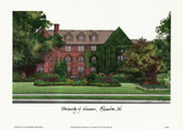 University of Wisconsin, Milwaukee Lithograph