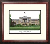 University of Wisconsin, Madison Alumnus Framed Lithograph