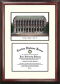 University of Washington Scholar Framed Lithograph with Diploma