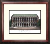 University of Washington Alumnus Framed Lithograph