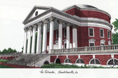 University of Virginia Lithograph