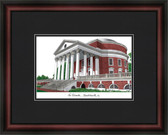 University of Virginia Academic Framed Lithograph