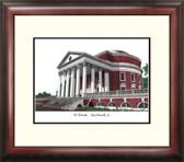 University of Virginia Alumnus Framed Lithograph