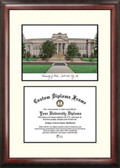 University of Utah Scholar Framed Lithograph with Diploma