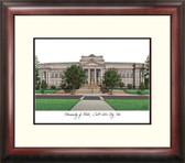 University of Utah Alumnus Framed Lithograph