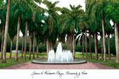 University of Miami Lithograph